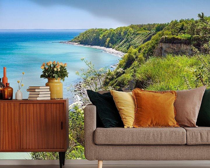 Beispiel fototapete: Steilküste bei Kap Arkona auf der Insel Rügen von Rico Ködder