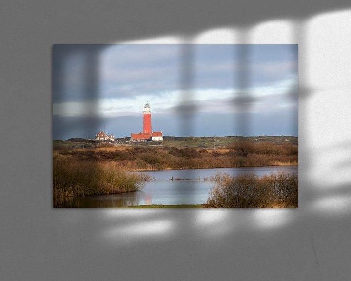 Beispiel: Leuchtturm von Texel von Ed Klungers