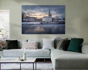 Breda Hafen Spanjaardsgat von Andre Gerbens