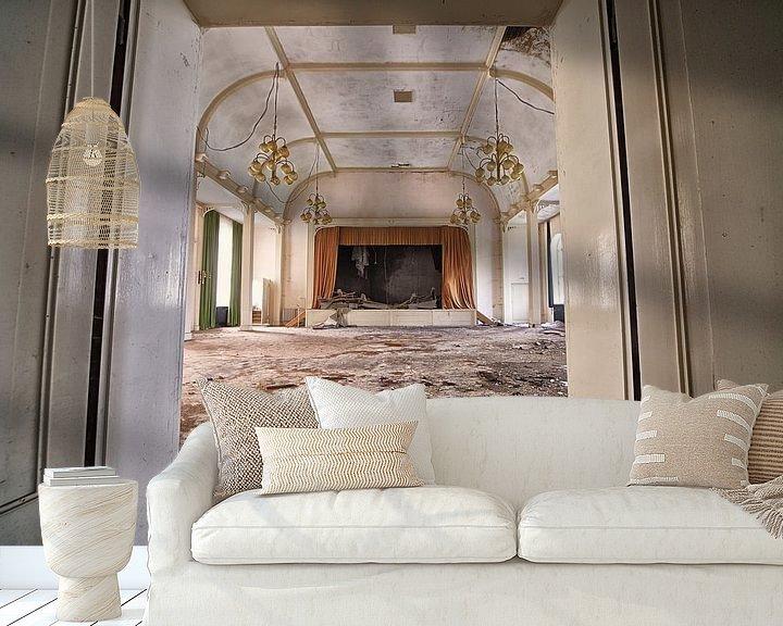 Beispiel fototapete: Goldener Ballsaal von Marius Mergelsberg