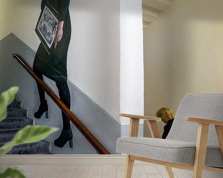 Sfeerimpressie behang: Willem 2 Den Bosch. van Henri Boer Fotografie
