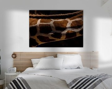 Muster einer Giraffe von Kaj Hendriks