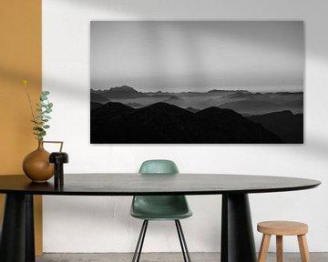 Mist in het Alpendal van Kaj Hendriks