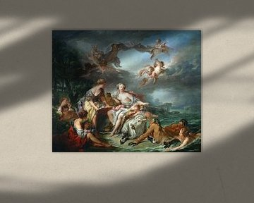 François Boucher, Die Versuchung Europas, 1747 von Atelier Liesjes