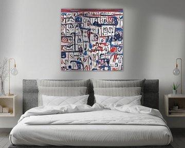 Abstrakte Inspiration XIV von Maurice Dawson