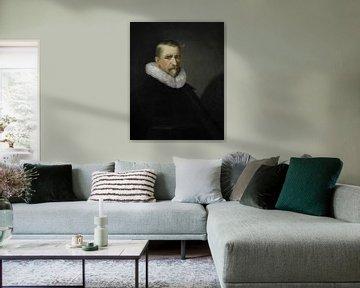 Portrait d'un homme au col riche sur Affect Fotografie