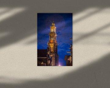 Westerkerk Amsterdam van Charles Poorter