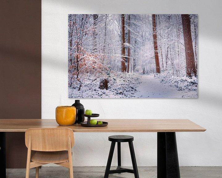 Sfeerimpressie: Love winter van Wim van D