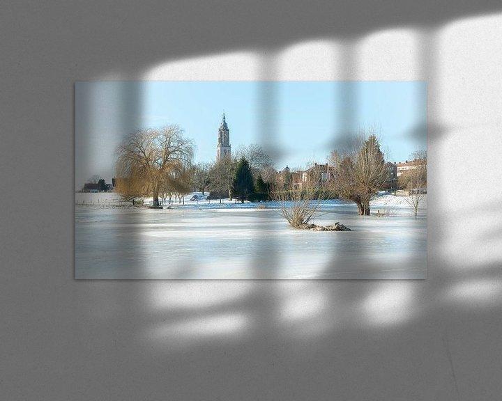 Sfeerimpressie: Winters Rhenen van Mark Bolijn