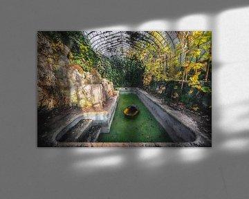 Urbex und die Natur von Digitale Schilderijen