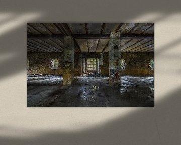 Alt und verlassen - Fort de la Chartreuse von Digitale Schilderijen