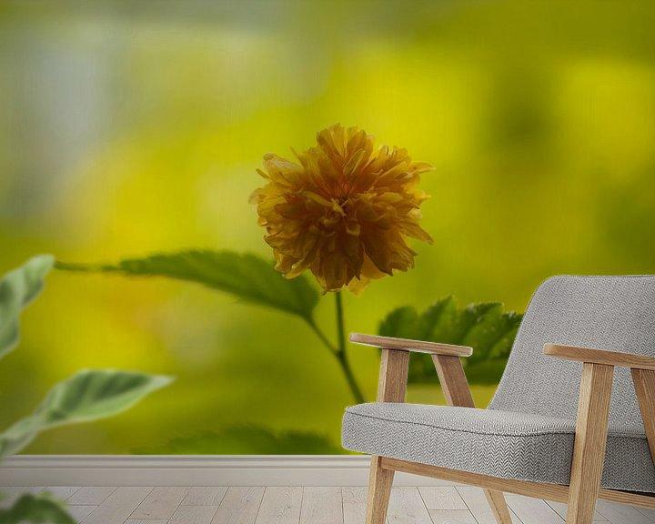 Sfeerimpressie behang: Ton sur ton door de zon van Syl de Mooy