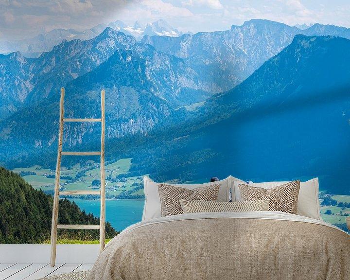 Sfeerimpressie behang: Toerisme aan de Mondsee in het Salzsalzkammergut van Animaflora PicsStock