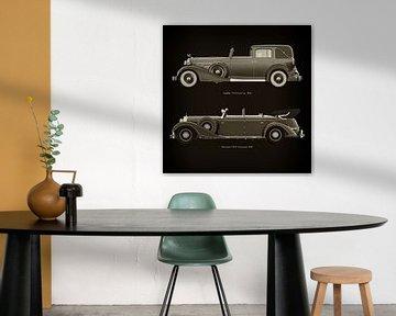 Cadillac V16 Town Car 1933 en Mercedes 770-K Limousine 1938