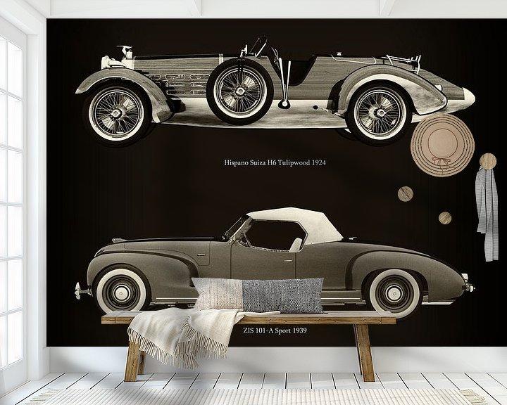 Impression: Hispano Suiza H6 Tulipwood 1924 et ZIS 101-A Sport 1939 sur Jan Keteleer