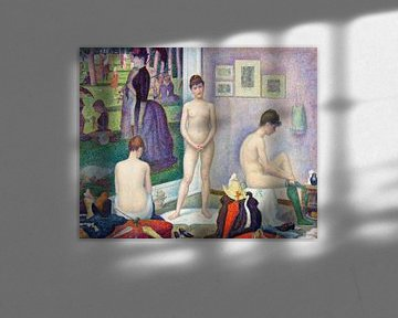 Modelle, Georges Seurat (ca. 1886-1888) von Atelier Liesjes