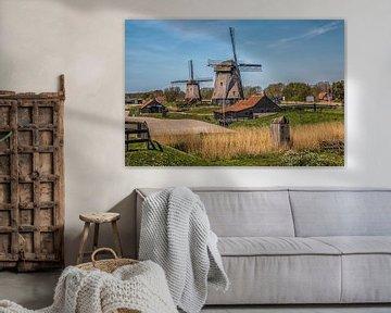 Polderfläche von Annette van Dijk-Leek