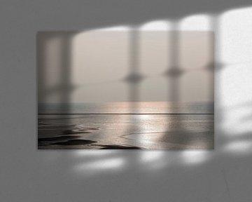 Terschelling, zonsondergang van Annette van Dijk-Leek