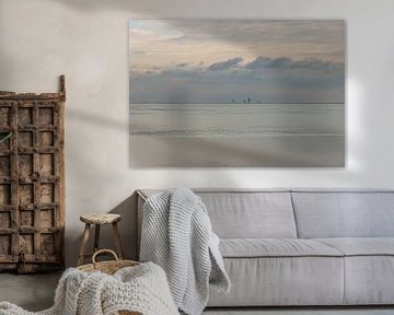 ALMERE Abstracte skyline van Paul Veen