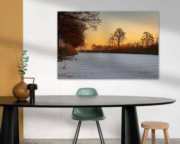 Winter in Nederland van Gert-Jan Kamans