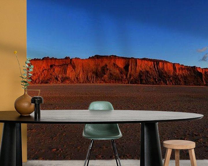 Impression: Sylt - Panorama de la falaise rouge sur Frank Herrmann