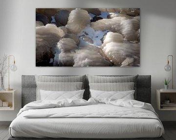 Nestje sneeuw van Jan van der Knaap