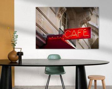 Café in Parijs van Rob van Esch