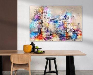 Tower Bridge - Londres (sans texte) sur Sharon Harthoorn