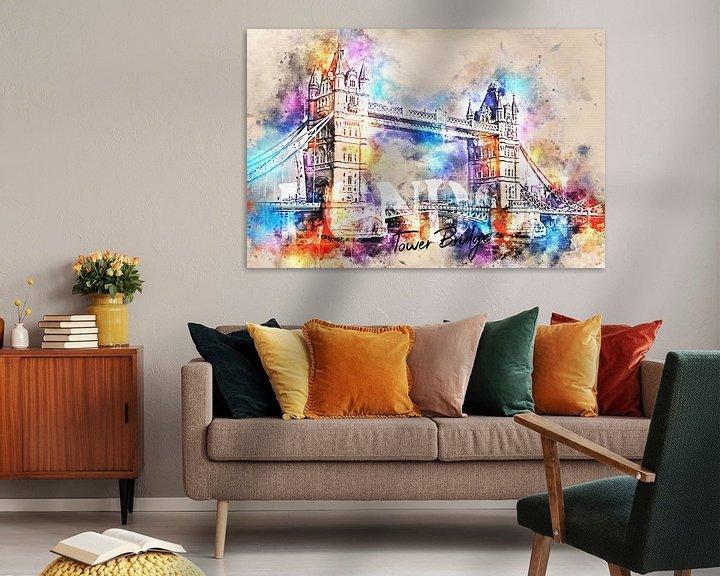 Sfeerimpressie: Tower Bridge - Londen van Sharon Harthoorn