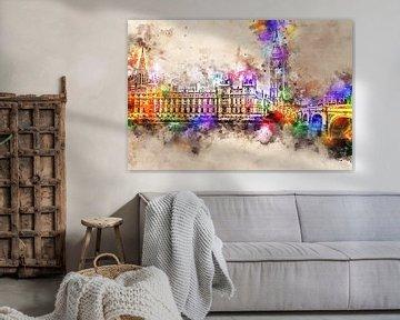 Palace of Westminster - Londen (zonder tekst)