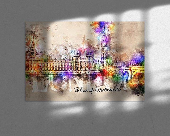 Sfeerimpressie: Palace of Westminster - Londen van Sharon Harthoorn