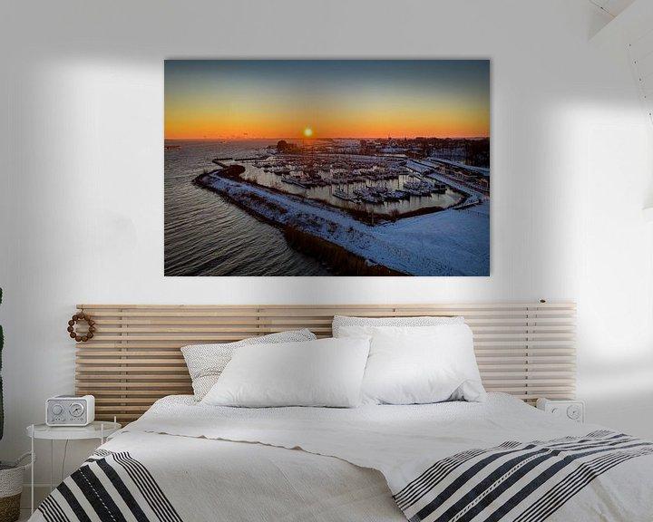 Sfeerimpressie: Willemstad haven van Martijn de Ruijter