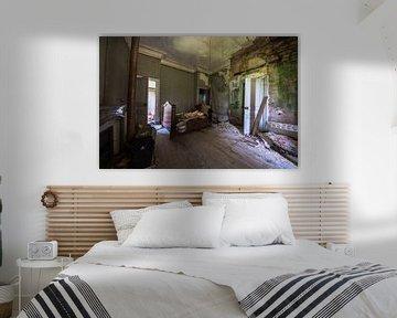 Ein weites Zimmer in einem Schloss von Aurelie Vandermeren
