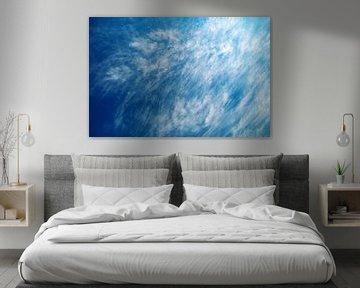 Blauwe lucht van BVpix