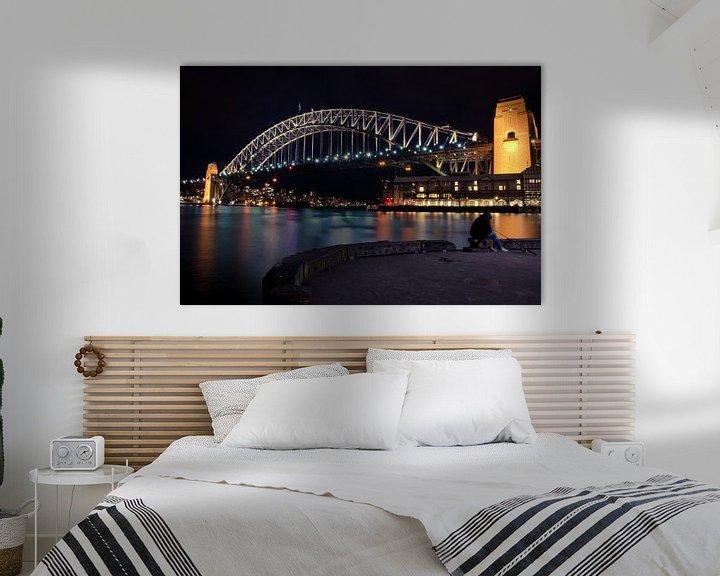 Sfeerimpressie: Sydney Harbour Bridge van Sven Wildschut