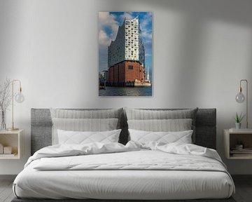 Elbphilharmonie, Hamburg van Adelheid Smitt