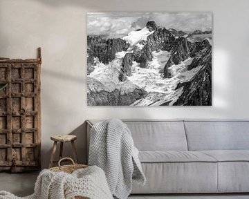Franse Alpen van Ko Hoogesteger