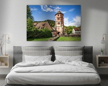 Ruïne van een klooster in Duitsland