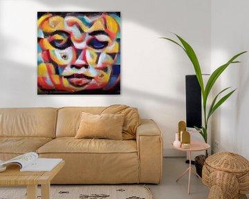 Abstrakte Inspiration XXVII von Maurice Dawson