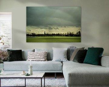 Typisch Hollands landschap  sur Sander van Veen