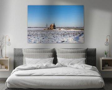 Kapel in de sneeuw, Bemmel