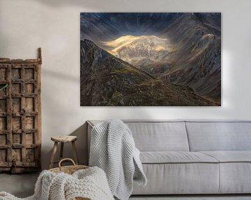 Franse Alpen in de herfst van Ko Hoogesteger