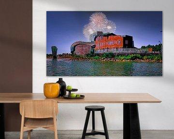Schouwburg Het Park in Hoorn van Digital Art Nederland