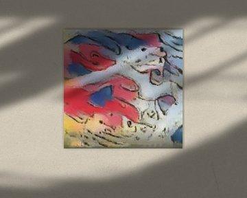 Abstrakte Inspiration XXVIII von Maurice Dawson