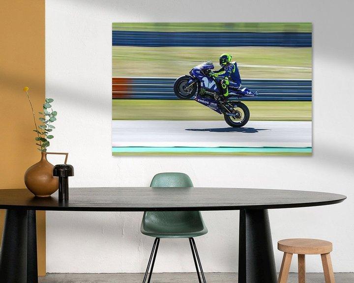 Sfeerimpressie: Valentino Rossi van Marco Dek