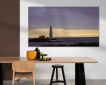 St. Mary's Lighthouse von Babetts Bildergalerie