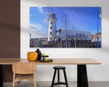 Scarborough Leuchtturm von Babetts Bildergalerie