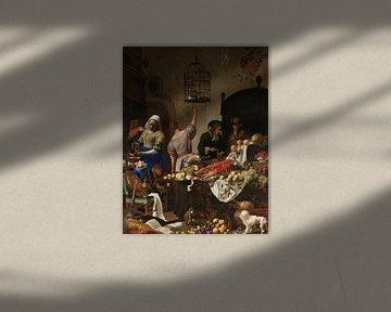 Mashup klassieke schilderijen van Jadzia Klimkiewicz