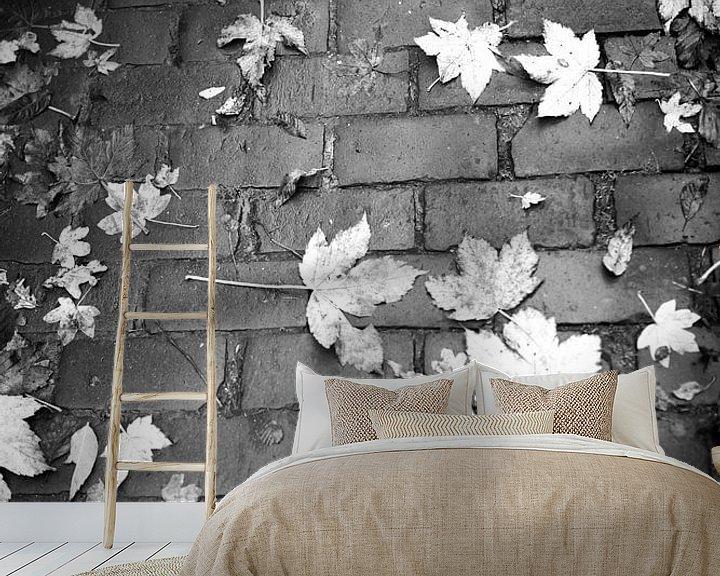 Sfeerimpressie behang: Herfst van Nouchka Est