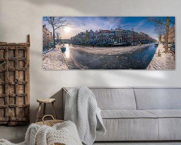 Herengracht, Leiden Panorama
